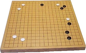 Opening moves on a 19 x 19 board